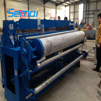 how to use welded wire mesh machine