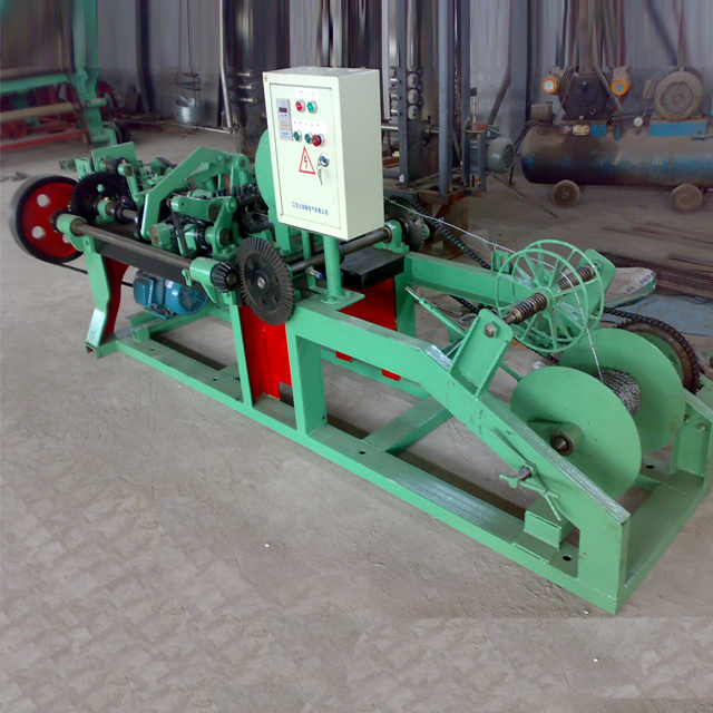 Three Types of Barbed Wire Machine