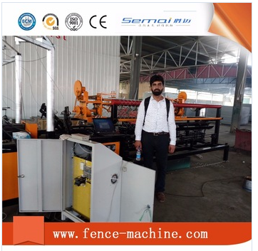 chain link fence machine in India
