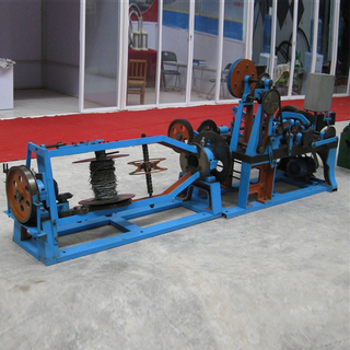 Reverse Twisted Barbed Wire Machine