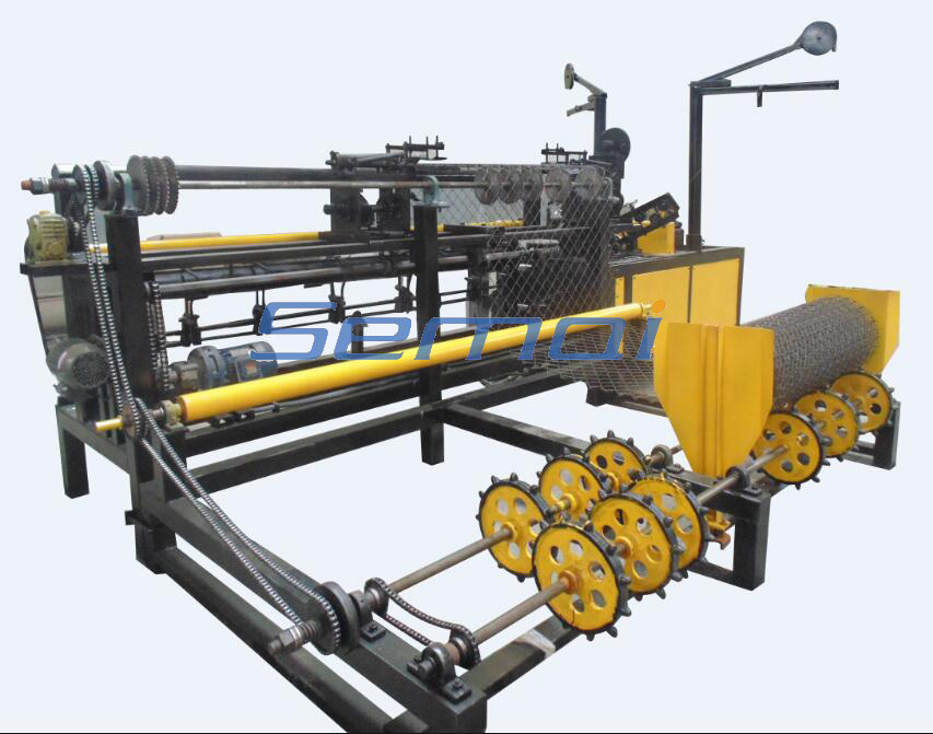 Special price for automatic diamond wire mesh machine